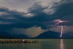 Gewitter übern Chiemsee
