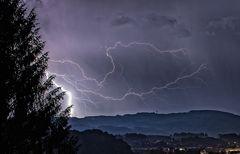 Gewitter übern Haunsberg