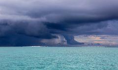 Gewitter vor Bora-Bora