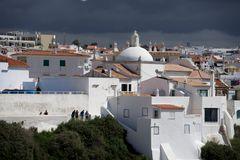 Gewitterfront an der Algarve