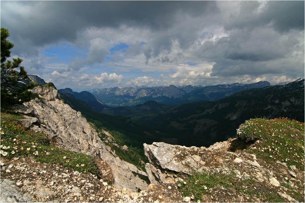 Gewitterstimmung am Berg