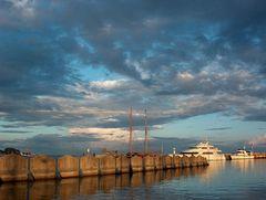 Gewitterstimmung bei Sonnenuntergang
