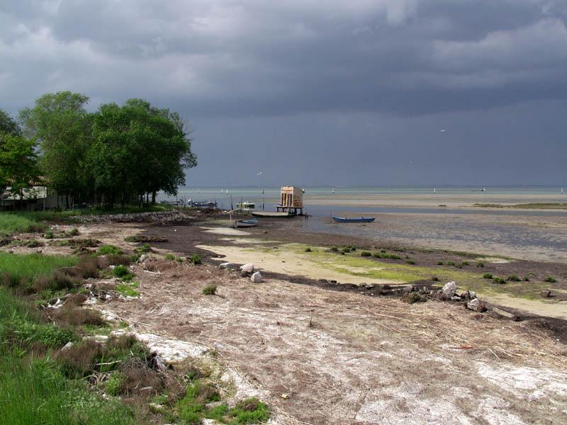 Gewitterstimmung in der Lagune von Grado (2)