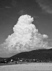 Gewitterwolke über dem Königstuhl 2