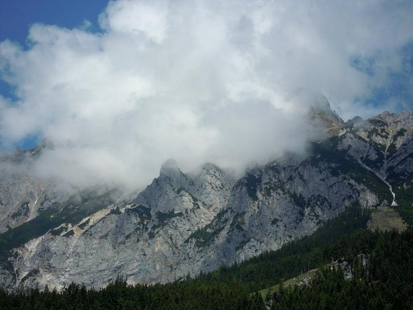 Gewitterwolken am Kamm (2.139m)