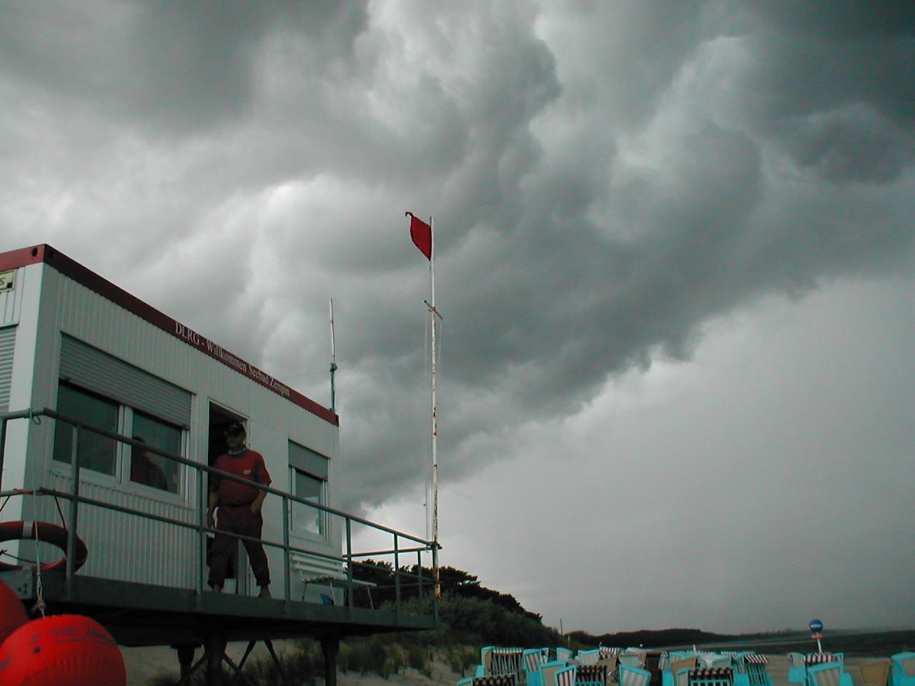 Gewitterwolken auf Usedom