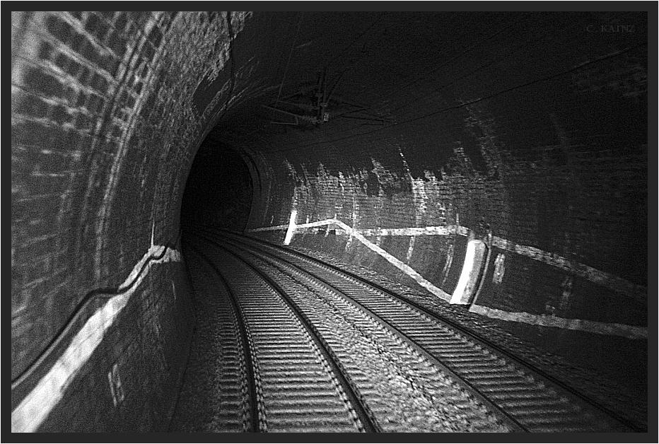 Geyeregger Tunnel At Night