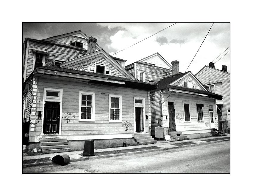 gezeichnete Häuser