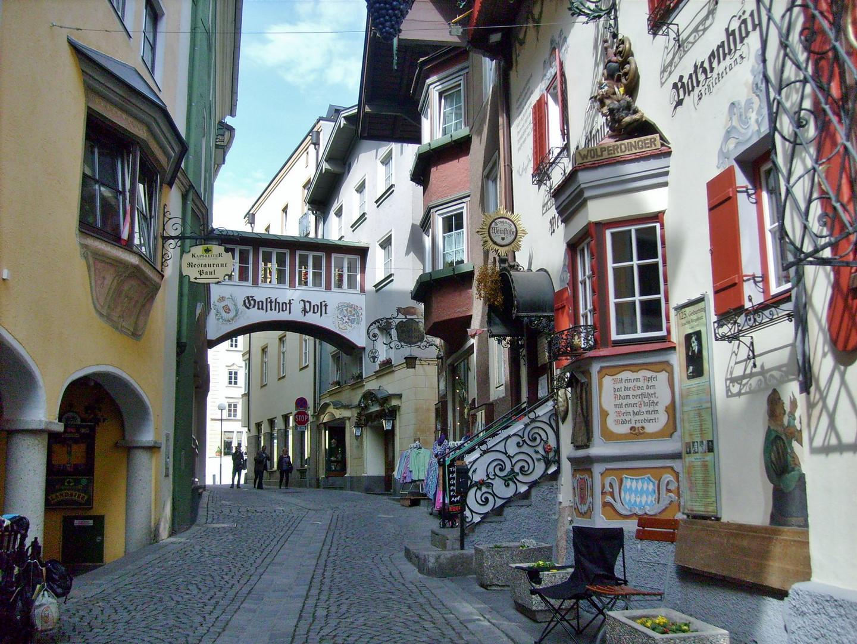 GH. zur Post - die schöne Altstadt Kufsteins