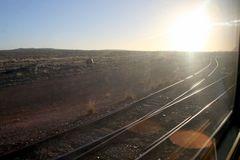 Ghan-Tracks im Outback