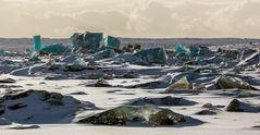 ghiacciaio a colori