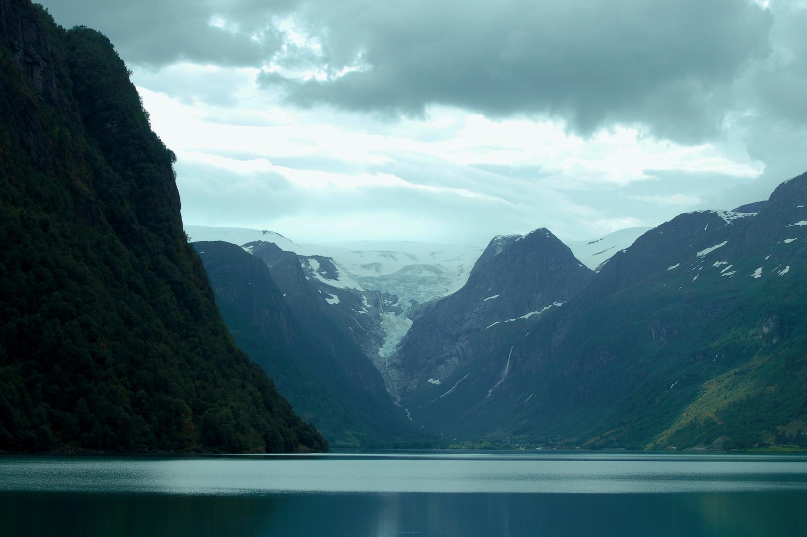 Ghiacciaio Briksdal Norvegia