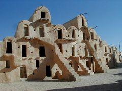 Ghorfa in Ksar Soltane, Tunesien