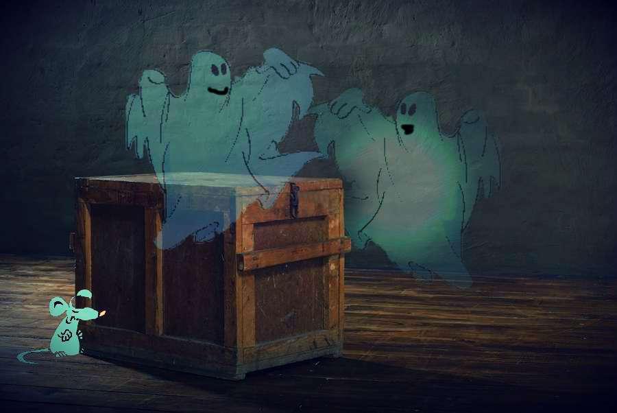 ghost-dance around the box