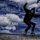 Ghost Face Skater