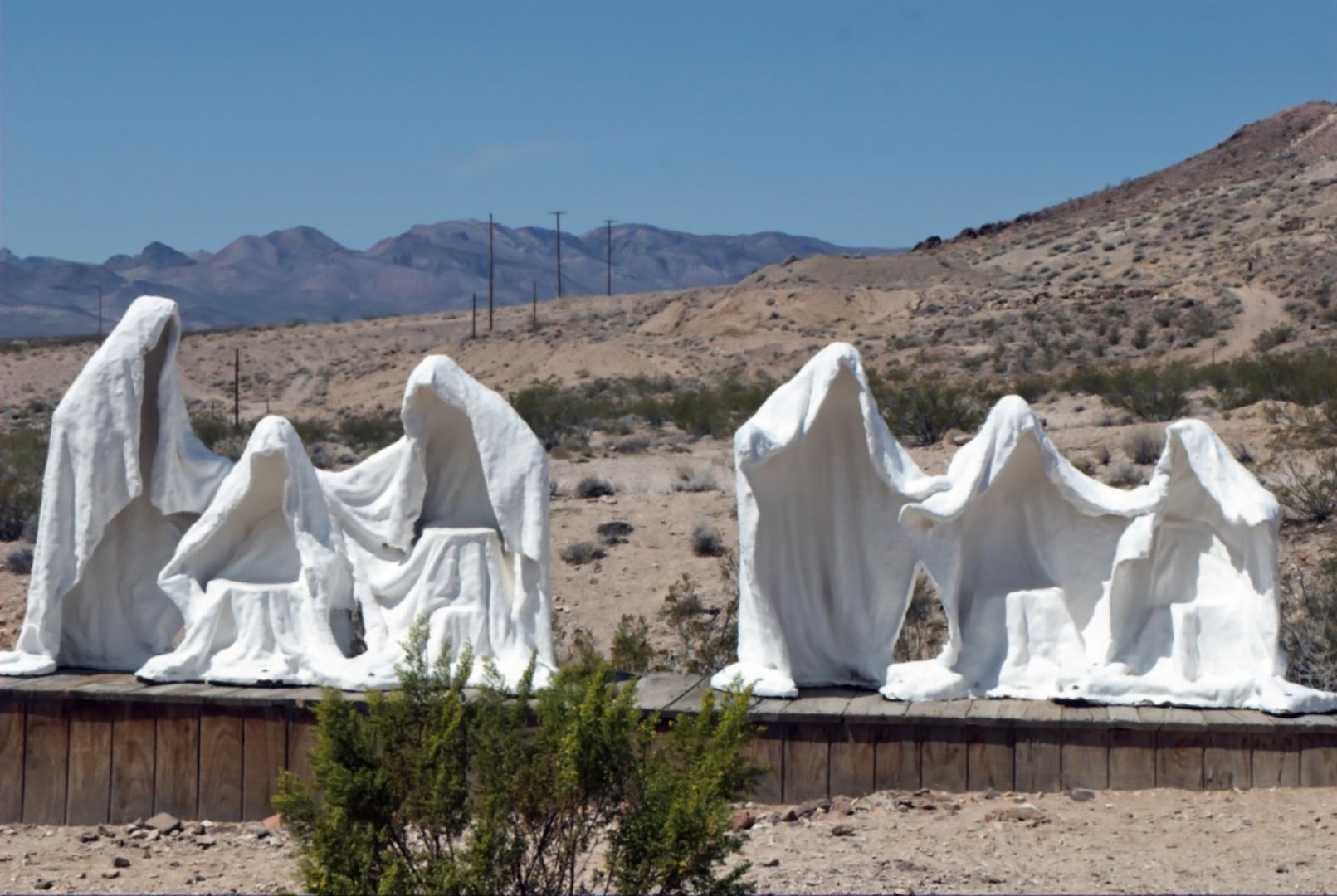 Ghosts in Rhyolite