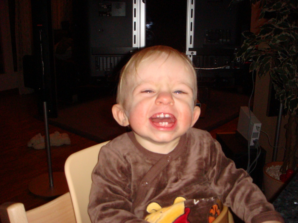 Gian-Marco's schönstes Lächeln