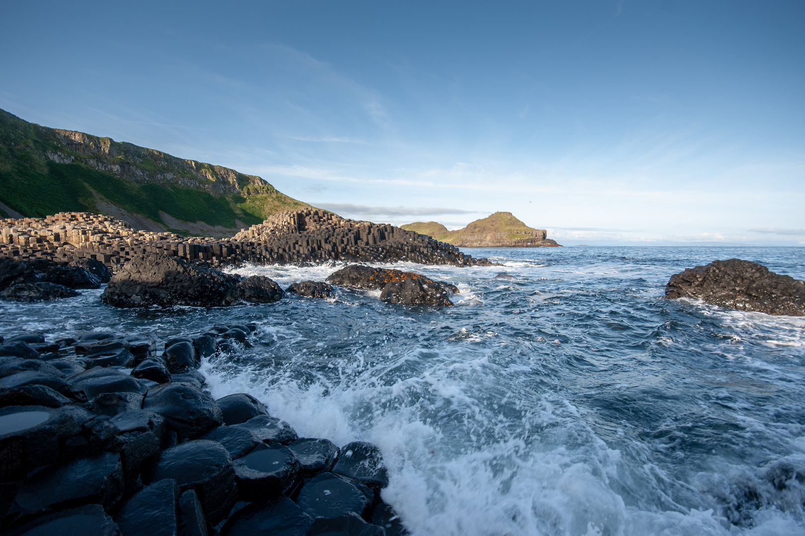 Giant's Causeway on an Early Morning.
