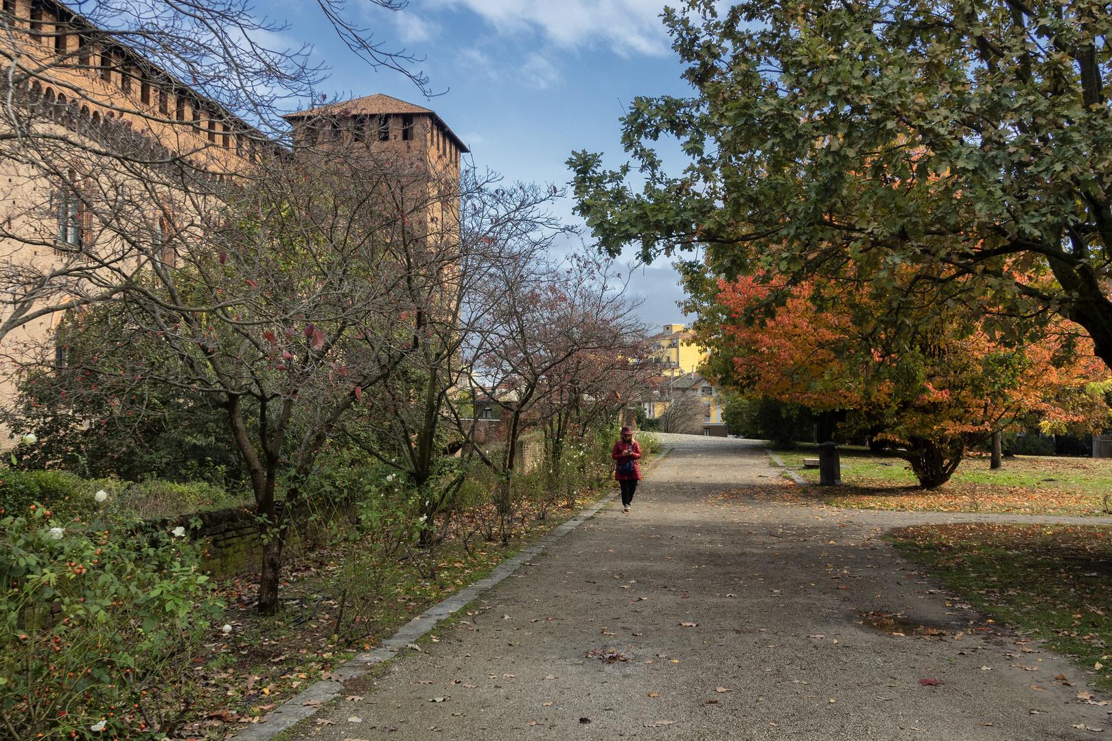 Giardini del Castello Visconteo di Pavia