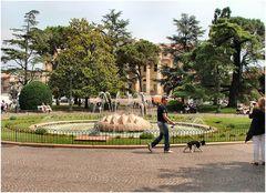 Giardino in Piazza Bra a Verona