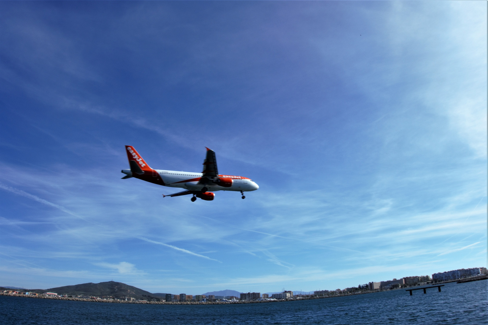 Gibraltar_ Anflug