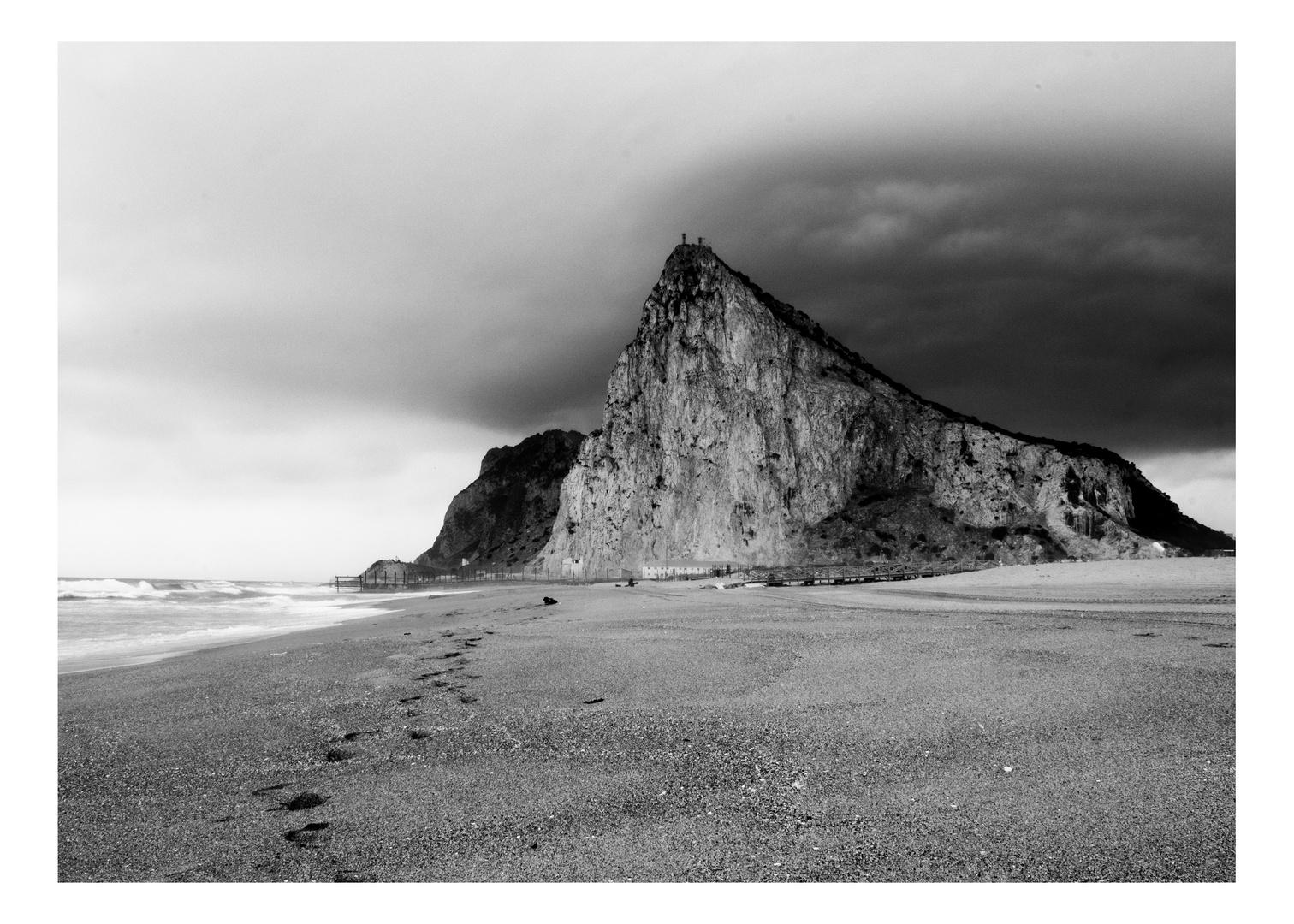 Gibraltar beach