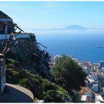 Gibraltar - Blick nach Afrika