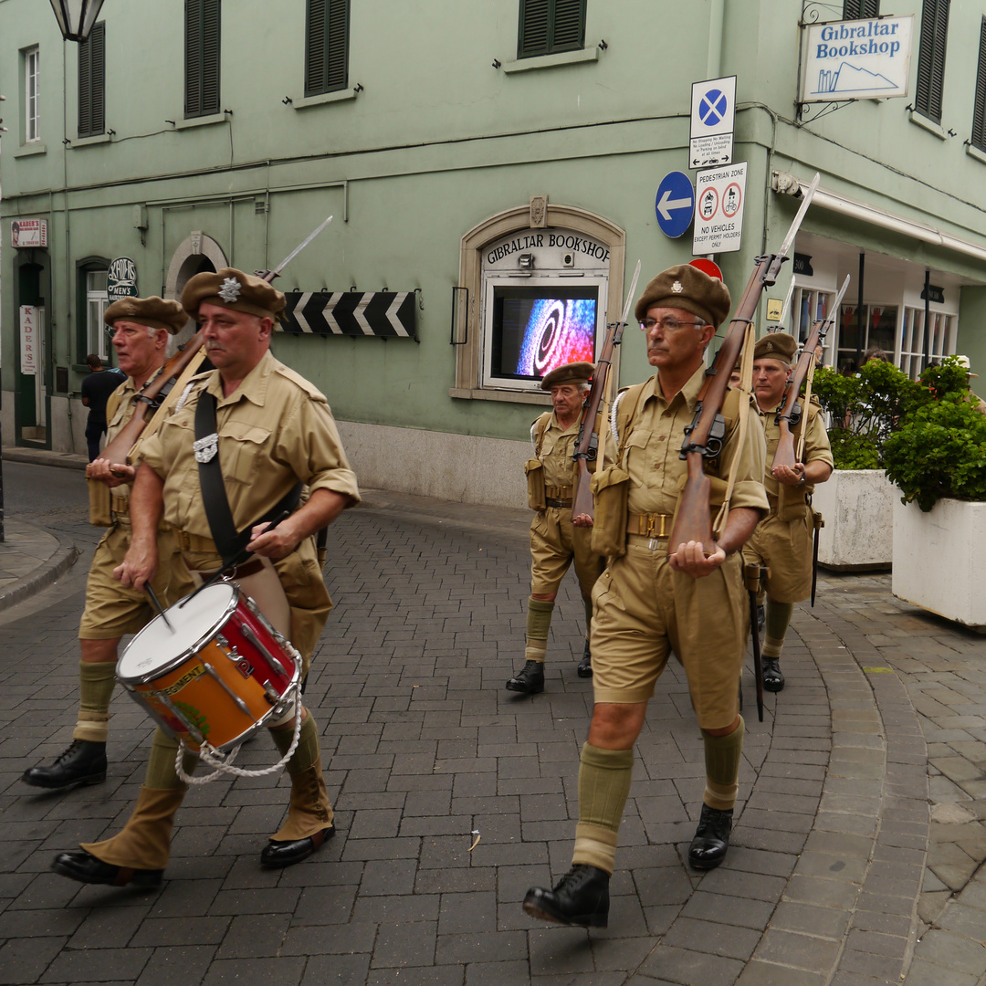 Gibraltar troupers
