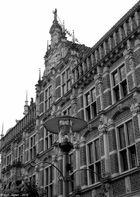 """""""Giebel"""" (Historisches Rathaus in Bocholt)"""