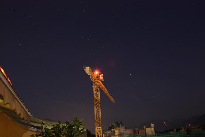 Gigant unter Sternen