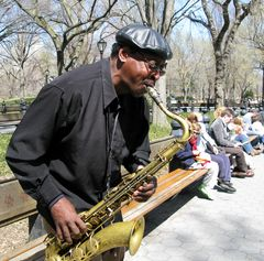 Gimme that Blues (Central Park NYC)