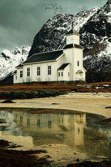 Gimsøy Kirke, Lofoten Norway