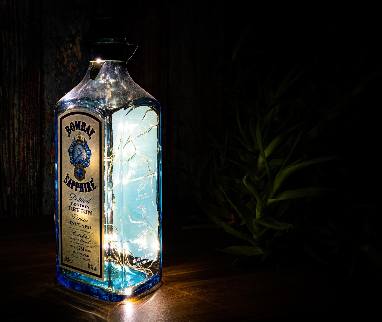 Ginflasche 3