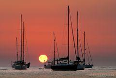 Giocando con il tramonto #1