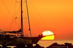 Giocando con il tramonto #3
