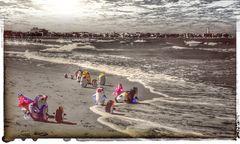 giocattoli sulla spiaggia