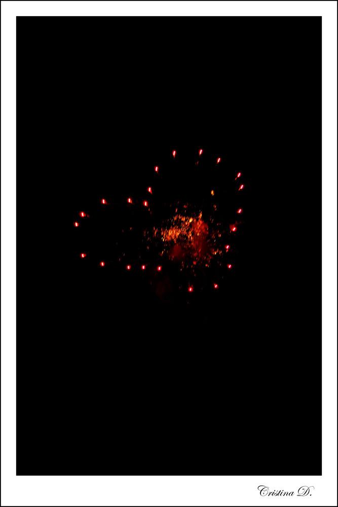 Giochi di luce nella notte #4 Cuore