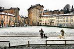 Giochi sotto la neve
