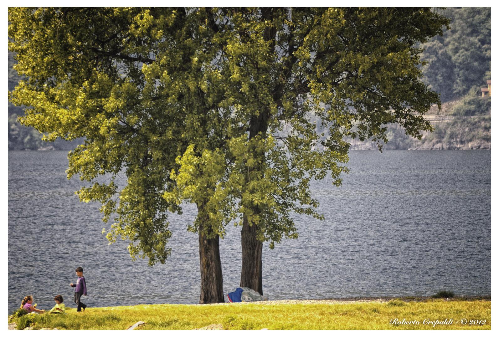 Giochi sul lago