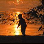 Gioco al tramonto