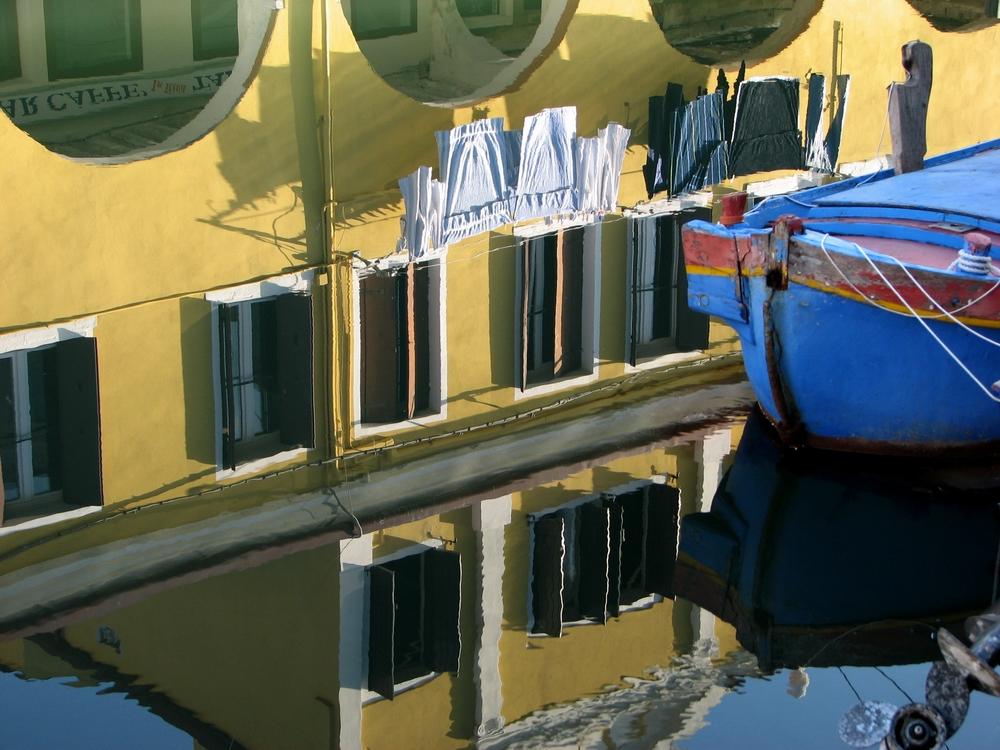 Gioia della luce a Chioggia