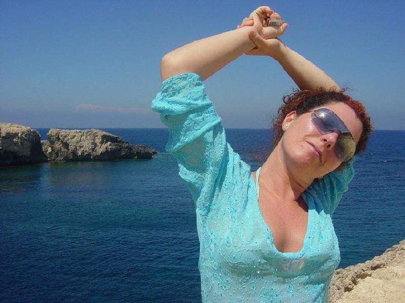 Giorgia in Ibiza