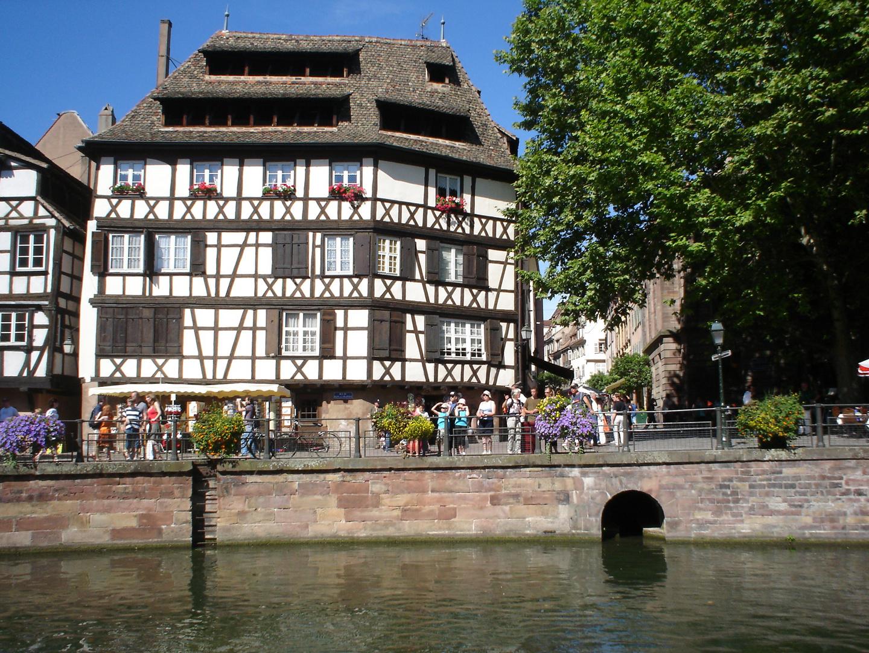 Giornata di sole a Strasburgo
