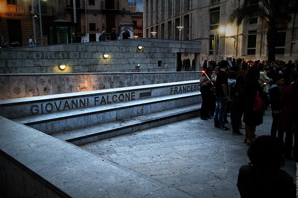 Giovanni Falcone (Piazza della Memoria, Palermo)