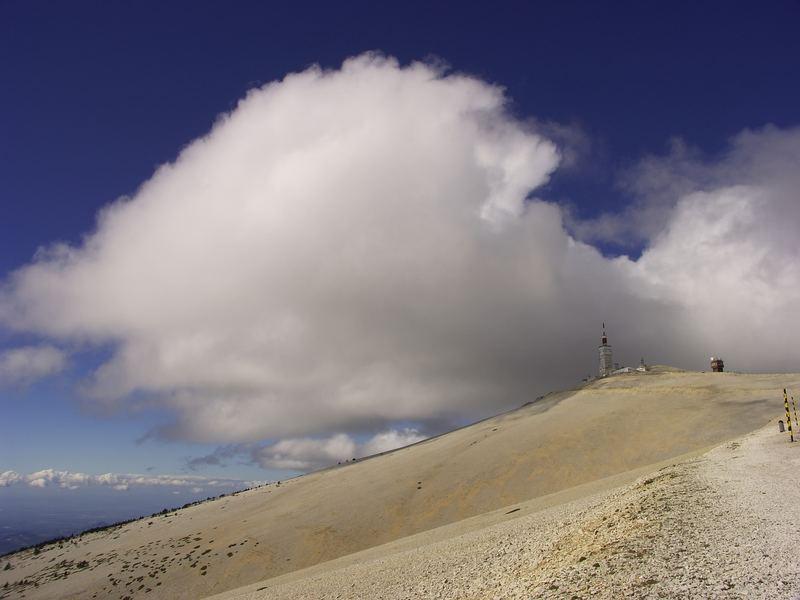 Gipfel des Mt. Ventoux