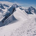 Gipfelausblick Breithorn 1
