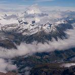 Gipfelausblick Breithorn 2