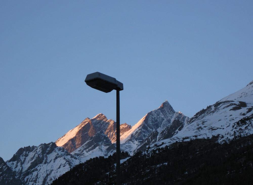Gipfelbeleuchtung