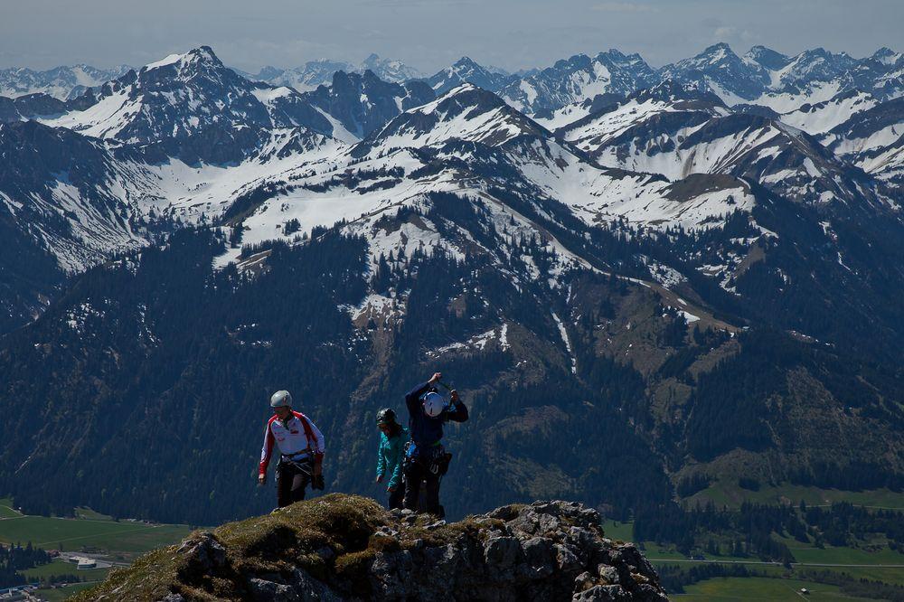 Gipfelblick Aggenstein