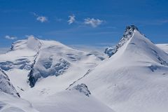 Gipfelblick Allalinhorn 3